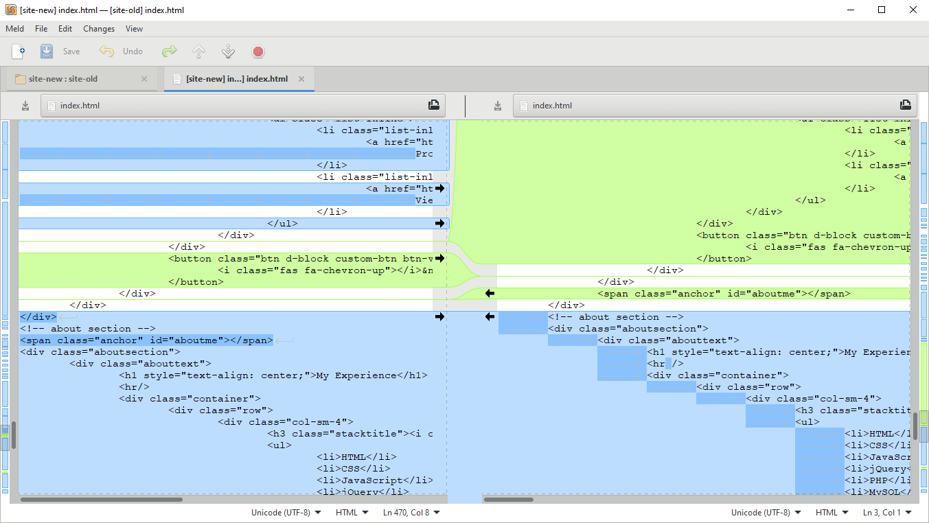 Meld – The Best Diff Tool for Windows – The Nerdy Student
